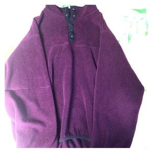Tops - Purple Sherpa Pullover